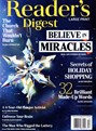 Reader's Digest Large Print | 12/2018 Cover