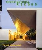 Architectural Record Magazine 11/1/2018