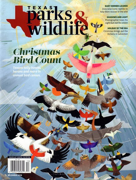 Texas Parks & Wildlife Cover - 12/1/2018