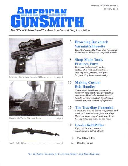 American Gunsmith Cover - 2/1/2018