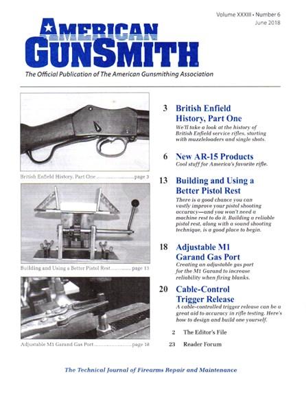 American Gunsmith Cover - 6/1/2018