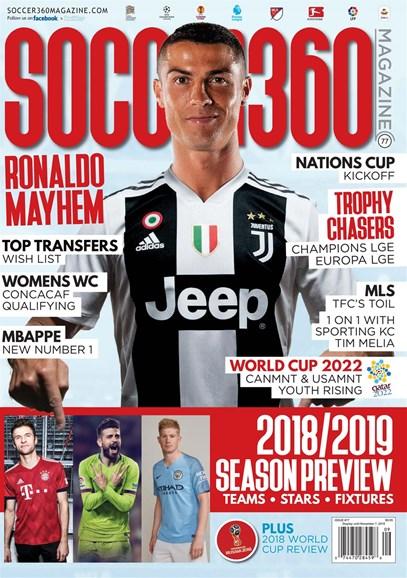 Soccer 360 Cover - 9/1/2018