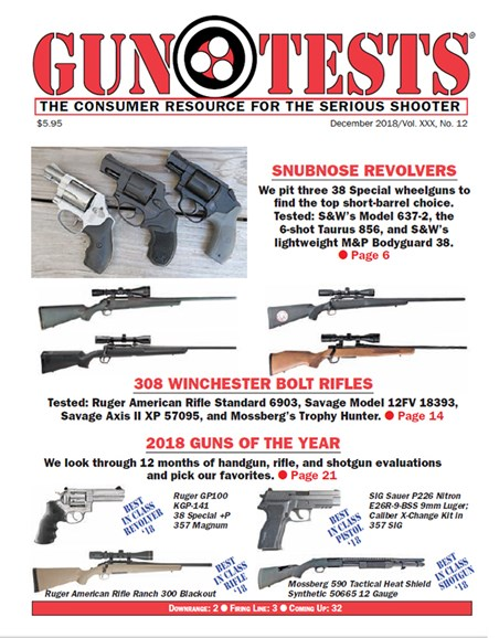 Gun Tests Cover - 12/1/2018