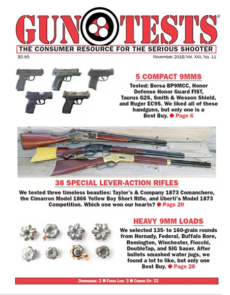 Gun Tests Cover - 11/1/2018