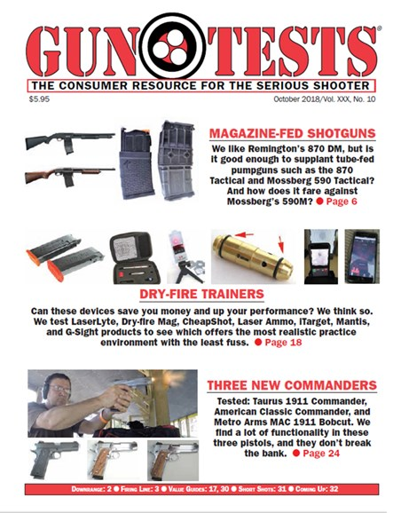 Gun Tests Cover - 10/1/2018
