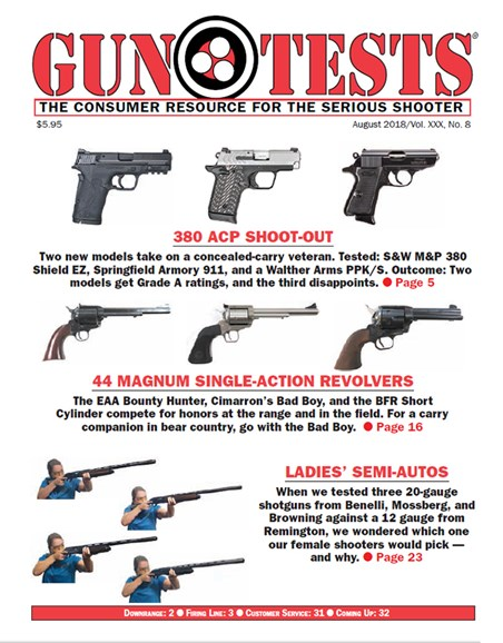 Gun Tests Cover - 8/1/2018