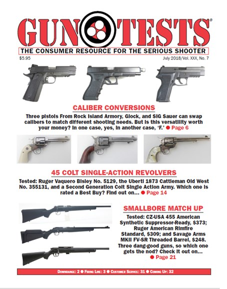 Gun Tests Cover - 7/1/2018