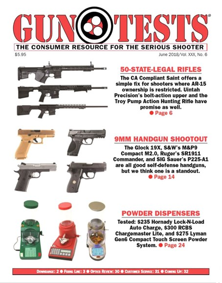 Gun Tests Cover - 6/1/2018