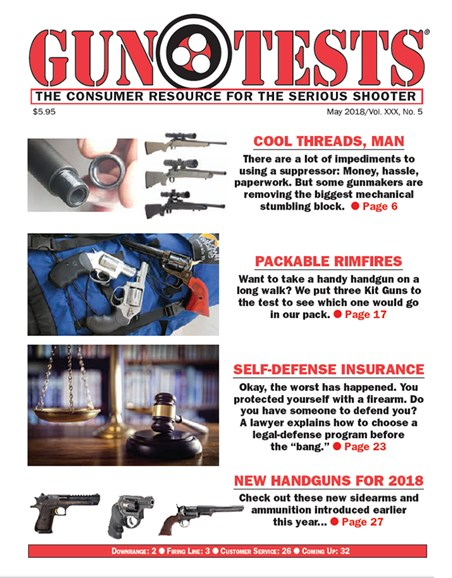 Gun Tests Cover - 5/1/2018