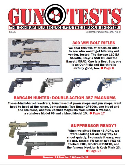 Gun Tests Cover - 9/1/2018
