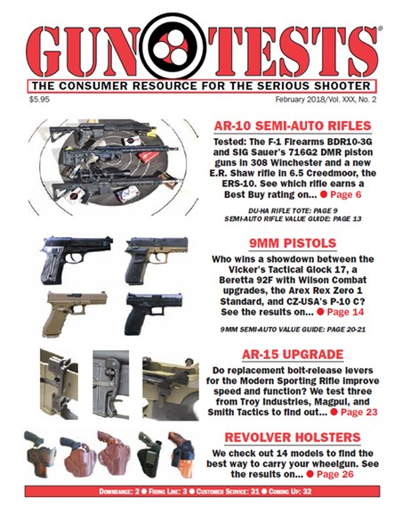 Gun Tests Cover - 2/1/2018