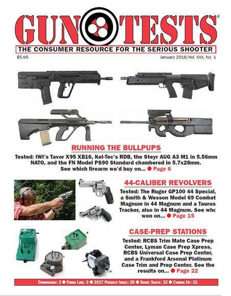 Gun Tests Cover - 1/1/2018