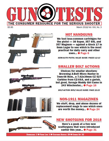 Gun Tests Cover - 3/1/2018