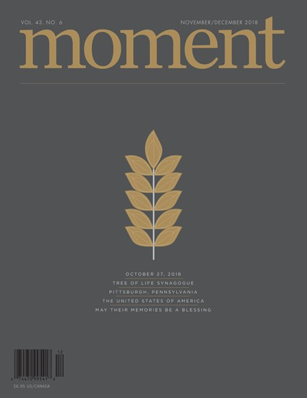 Moment Magazine Cover - 11/1/2018