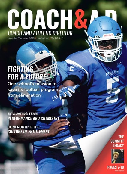Coach & Athletic Director Cover - 11/1/2018