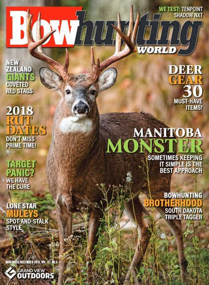 Bowhunting World Cover - 11/1/2018