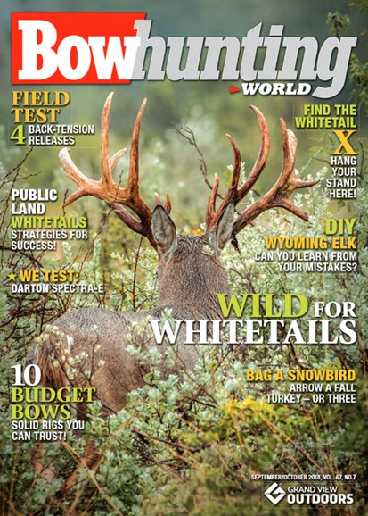 Bowhunting World Cover - 9/1/2018