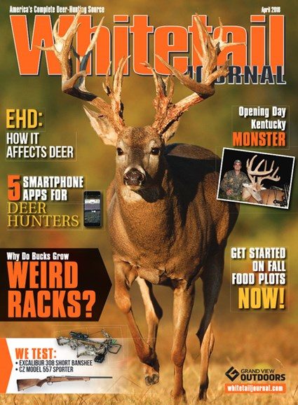 Whitetail Journal Cover - 4/1/2018