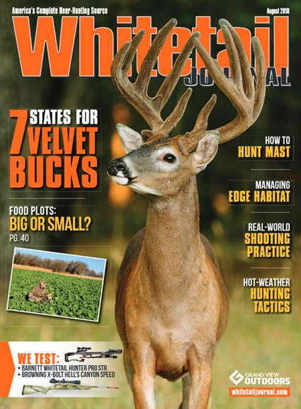 Whitetail Journal Cover - 8/1/2018