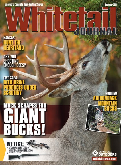 Whitetail Journal Cover - 12/1/2018