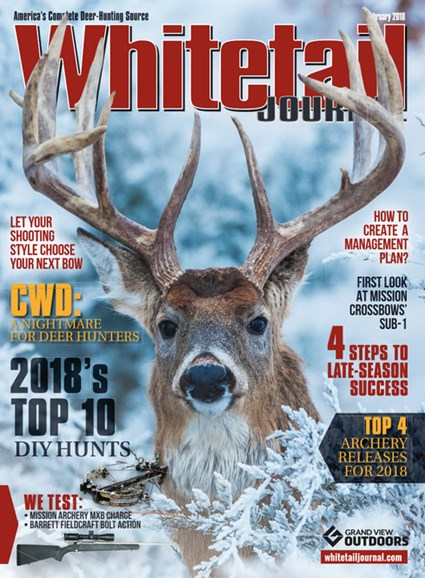 Whitetail Journal Cover - 2/1/2018