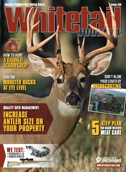 Whitetail Journal Cover - 10/1/2018