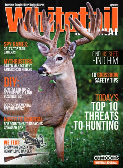 Whitetail Journal Cover - 4/1/2017