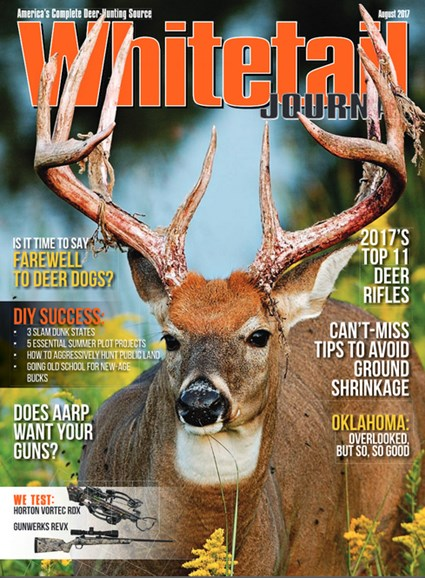 Whitetail Journal Cover - 8/1/2017