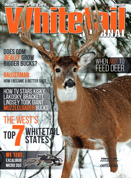 Whitetail Journal Cover - 2/1/2017