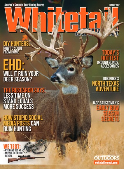 Whitetail Journal Cover - 10/1/2017