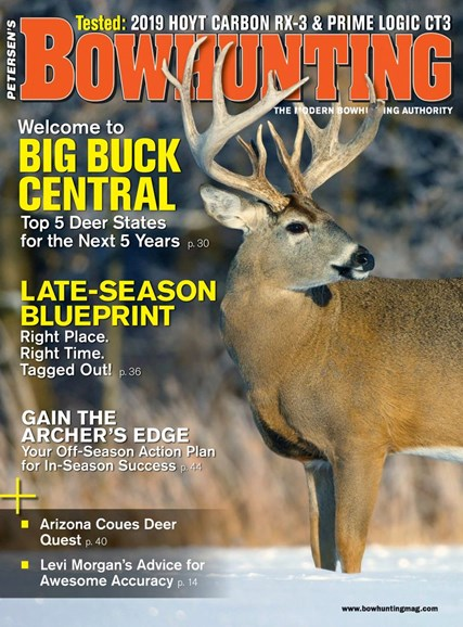 Petersen's Bowhunting Cover - 1/1/2019