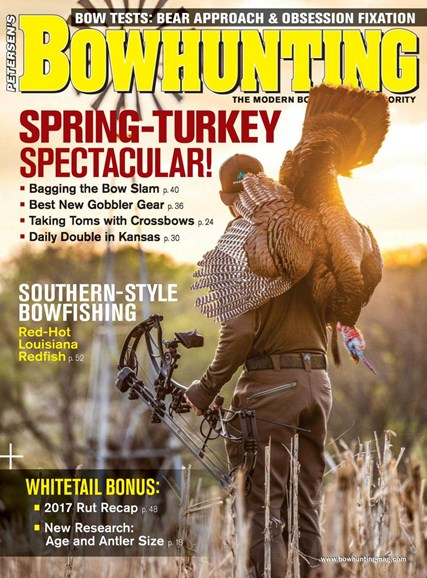 Petersen's Bowhunting Cover - 4/1/2018