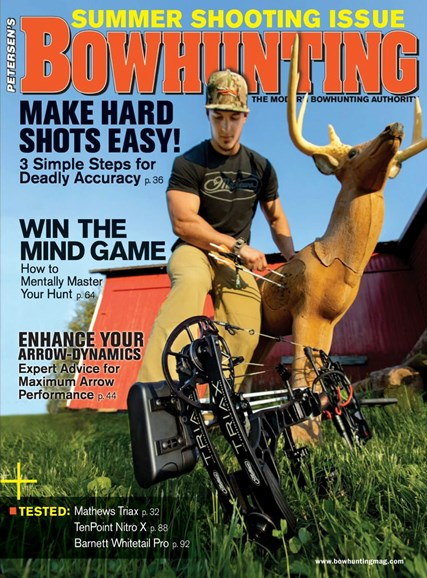 Petersen's Bowhunting Cover - 8/1/2018