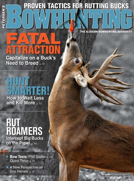 Petersen's Bowhunting Cover - 11/1/2018