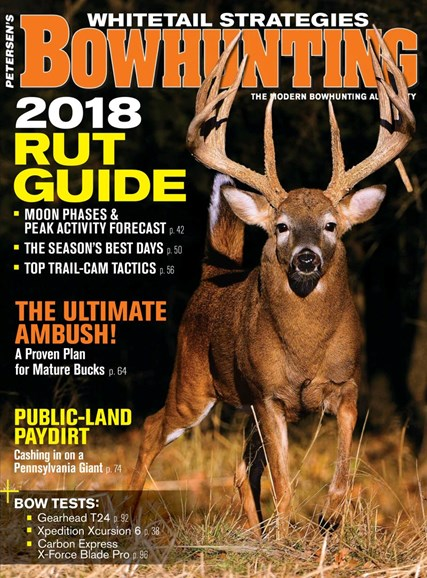 Petersen's Bowhunting Cover - 10/1/2018