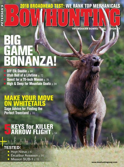 Petersen's Bowhunting Cover - 9/1/2018