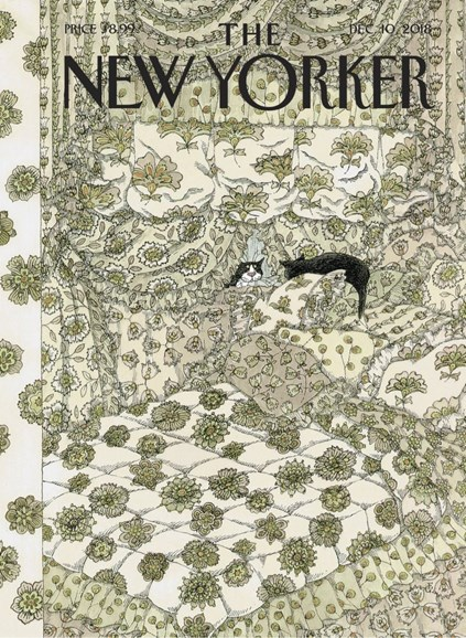 The New Yorker Cover - 12/10/2018