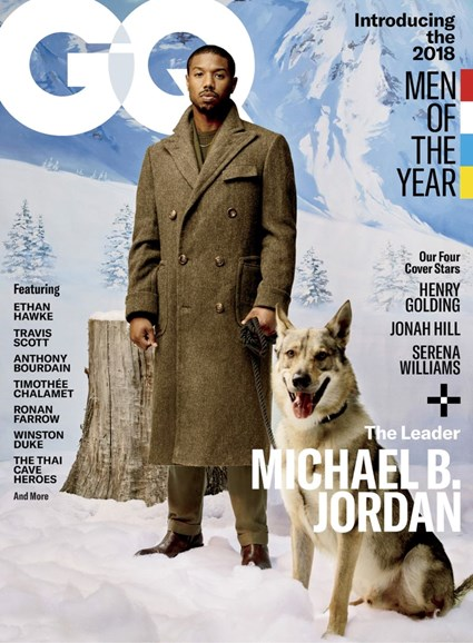 Gentlemen's Quarterly - GQ Cover - 12/1/2018