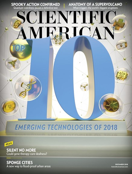 Scientific American Cover - 12/1/2018