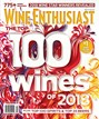 Wine Enthusiast Magazine | 12/2018 Cover