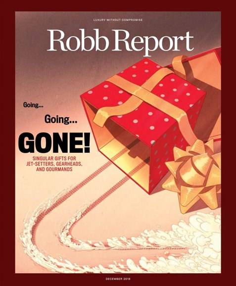 Robb Report Cover - 12/1/2018
