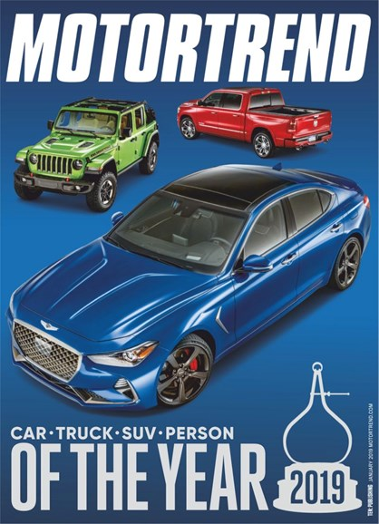 Motor Trend Cover - 1/1/2019