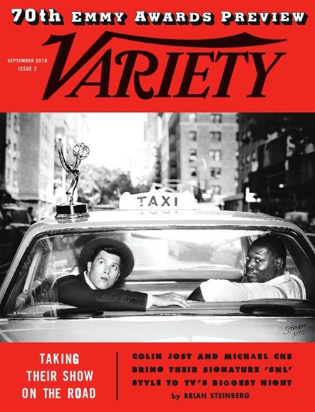 Variety Cover - 9/11/2018