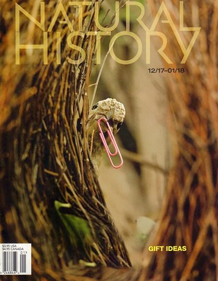 Natural History Cover - 12/1/2017