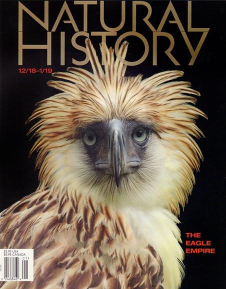Natural History Cover - 12/1/2018