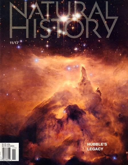 Natural History Cover - 11/1/2017