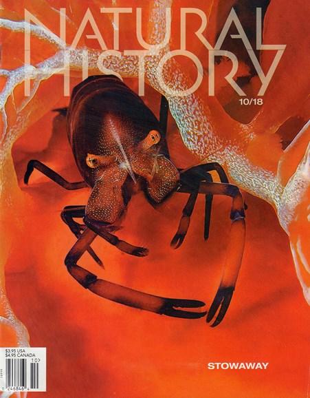 Natural History Cover - 10/1/2018