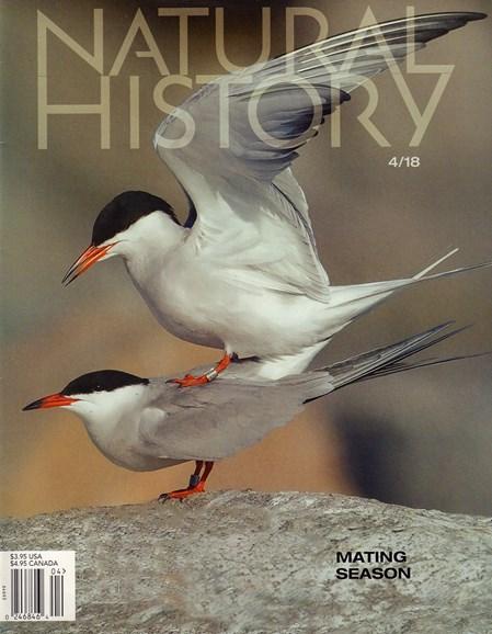 Natural History Cover - 4/1/2018