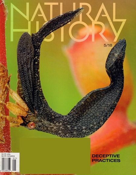 Natural History Cover - 5/1/2018