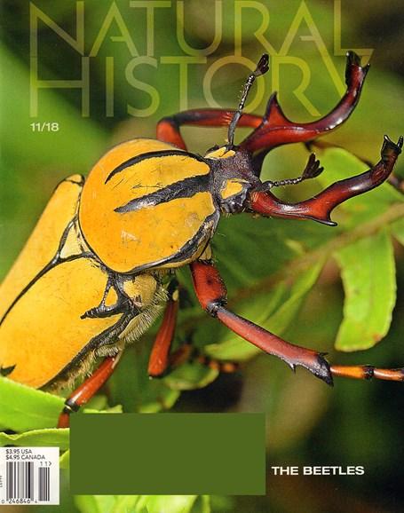 Natural History Cover - 11/1/2018